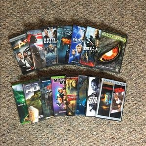 16 Action & Adventure DVDs for only $10.00!